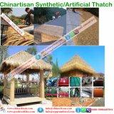 Thatch di foglia di palma sembrante naturale del Thatch artificiale sintetico impermeabile a prova di fuoco del Thatch nei Maldives Bali Africa Palapa