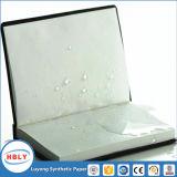 바닷가에 또는 목욕 돌 종이 노트북에 쓰기