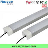 IP65 5FT 1500mm linear de baixa Bay 50W 60W Tri-Proof luz de LED