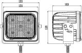 5 luz campo a través 50W del trabajo del CREE LED de la pulgada 10W