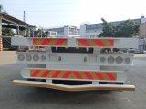 40feet平面トレーラー3axles (長い手段)