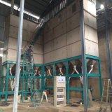 Usine d'outre-mer de moulin de maïs de service pour le traitement de farine de maïs d'installation