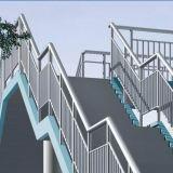 Tubo de la barandilla de la escalera del acero inoxidable 304