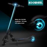 Самокат пинком удобоподвижности батареи лития Koowheel новый первоначально миниый сложенный электрический
