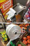 Sac à provisions en plastique de T-Merde d'épicerie colorée de T-shirt de HDPE