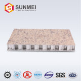 Poids léger en aluminium haute Stength Honeycomb stratifiés pour l'étage du panneau de marbre et le mur