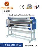 Fría y caliente Linerless automática de rollo a rollo Laminador con cortador
