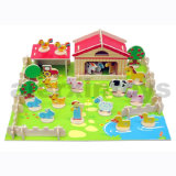 Puzzle rurais de madeira 3D (81024)