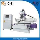 Machine de découpage en bois de processus de la commande numérique par ordinateur Acut-1325 trois avec le coût bas