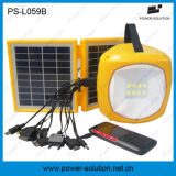 2W 500 Hours Lighting Solar Lantern com Mobile Phone Charger para Paquistão Flood
