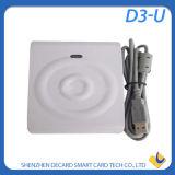 Lector de tarjetas sin contacto elegante portable del IC D3-U