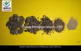 Brown fixierte Aluminiumoxyd-Körner für feuerfeste Rohstoffe