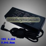 Fujitsu 19V 4.22Un CP145081-01 JVM-AC314 AC adaptateur pour ordinateur portable