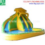 Бассеин скольжения новой конструкции раздувной для малышей (BJ-AT75)