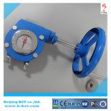 Válvula de liga de alumínio da engrenagem da caixa cor prata Bct-Agv Worm-04