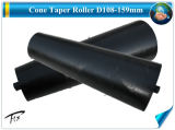 D89*D133*340 Ciment conicité du rouleau du tendeur du convoyeur