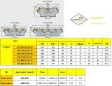 표준 맷돌로 가는 공구와 일치하는 강철 Hardmetal를 위한 Cutoutil 삽입