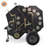 農業のトラクターの販売のための歩く小型円形の干し草の梱包機