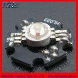 1W/3W de alta potencia de iluminación LED RGB con 6 pins