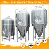 Chaqueta hoyuelo fermentación tanque de acero inoxidable