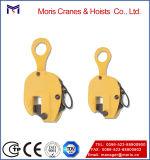 Grampo de elevação de placa com conector de corrente, limite de carga de trabalho amplo