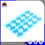 Autoadesivo stampato sensibile al calore su ordinazione del documento di contrassegno per la pellicola protettiva
