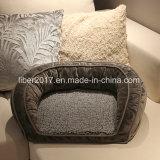 رف ذاكرة زبد كلب سرير كلب [سفا بد] أريكة محبوب مع حصيرة