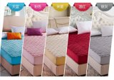 Funda de colchón para la Reina/cama King Size o ultrasónica Quilting impermeable
