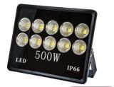 Alta eficiencia 500W lámpara de inundación del LED precio de menor