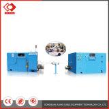 Double fil horizontal tordant le matériel de câble de machine