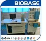À la verticale de l'analyseur de carbone infrarouge & soufre Bk-CSA6
