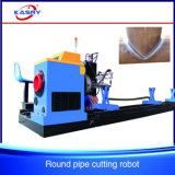 Вырезывание CNC Oxyfuel плазмы и скашивая машина для стальных труб