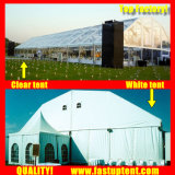 ブランド式1000の人のSeaterのゲストのための2018の白の多角形の屋根の玄関ひさしのテント