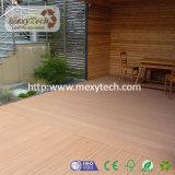 裏庭のDeckingのプロジェクトのためのEcoの友好的なプラスチック合成の木製のDecking