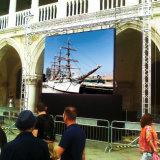 schermo dell'interno esterno di 640X640mm LED con il Governo sottile sulla promozione