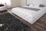 Re ricoperto europeo Size Leather Bed Designs