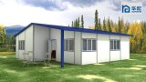 Casa móvel Prefab da cabine
