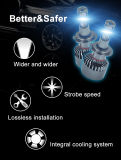 L'automobile chiara su ordinazione all'ingrosso LED dei kit di buona qualità illumina la lampada capa automatica su ordinazione unica H4 H7 di Cnlight LED di stile del LED del faro delle lampadine LED del kit automobilistico del faro