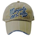 Бейсбольная кепка спорта сандвича вышивки Contrasting стежком тяжелая помытая (TMB0348)
