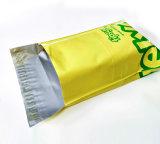 Пластичный почтовый пересылая мешок габарита курьерский с изготовленный на заказ логосом