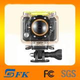 170 Degré d'angle Full HD 1080p Sport extrême étanche Caméra d'action