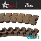 880tab de de plastic Transportband van de Tand/Ketting van de Bovenkant van de Lijst/Sideflexing Ketting