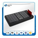 Клавиатура POS мембраны ключевая Programmable с Msr (KB66)