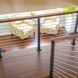 高品質の手すりが付いているAnti-Rust安全ステンレス鋼の棒の柵