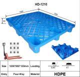 Lichte Plicht die Plastic Pallet in Grootte 1200X1000 mm rekken