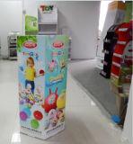 étalage de poubelle du carton 6-Sided avec l'impression offset 4c, intense et robuste pour des jouets
