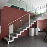 계단 방책 디자인/실내 유리제 철도망
