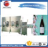 Máquina de rellenar completamente automática del vino y de la bebida