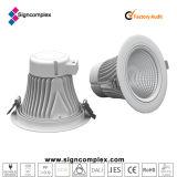 Diodo emissor de luz Downlight da ESPIGA de Signcomplex 25W Luna com CE RoHS