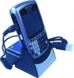 Soporte USB de 2ª batería y cargador para Blackberry 8700